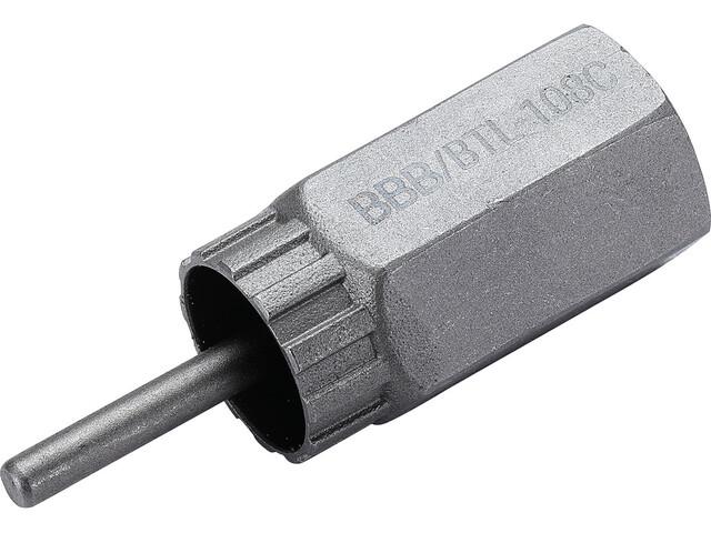 """BBB LockPlug BTL-108C Extracteur de pignon 1/2"""", silver"""